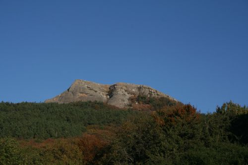 crimea mountains landscape