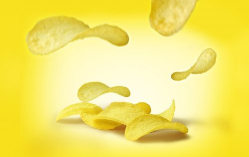 crisp potato fast food