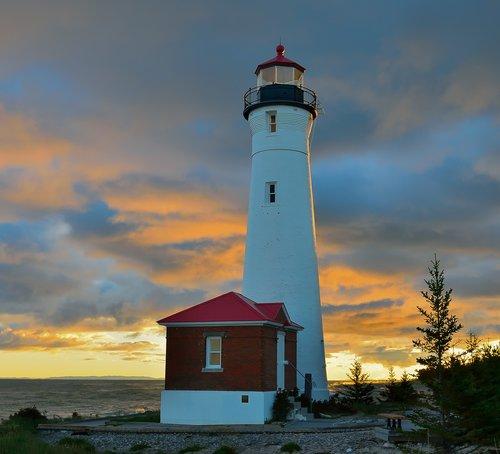 crisp point lighthouse  lighthouse  crisp point