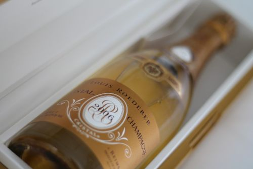 cristal champagne bubbly