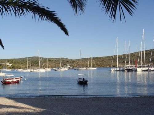 croatia island ships