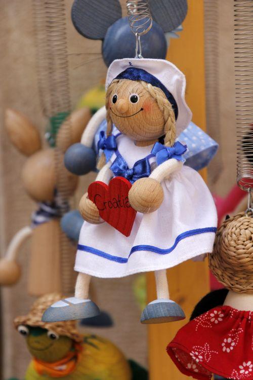 croatia heart souvenir