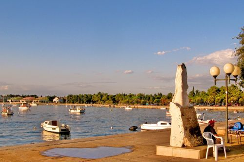 croatia water sea