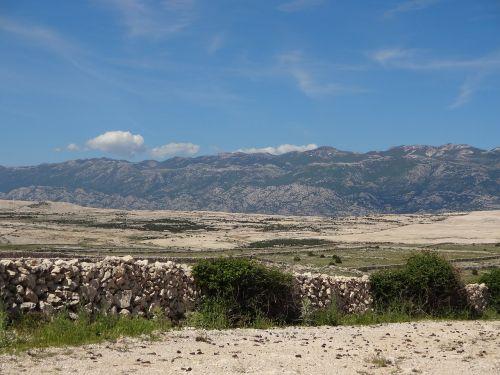 croatia karg steinig
