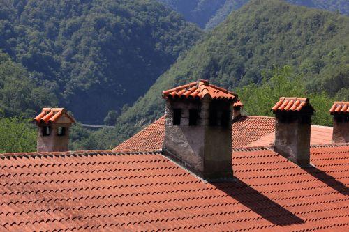croatia monastery roof