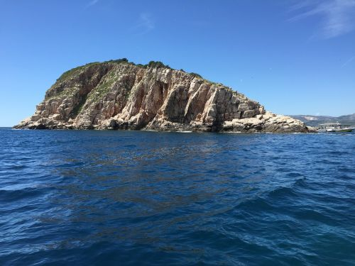 croatia rock sea