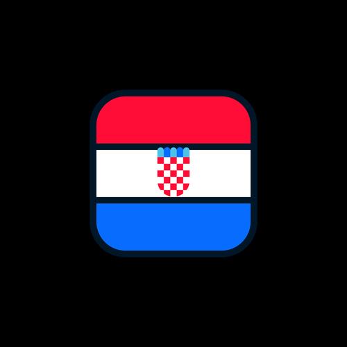 croatia  croatia icon  croatia flag