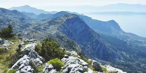 croatia  mountains  south croatia
