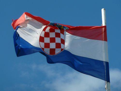 croatia flag emblem