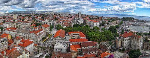 croatia split old town