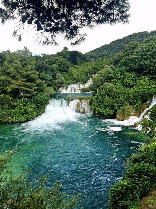 croatia waterfall national park