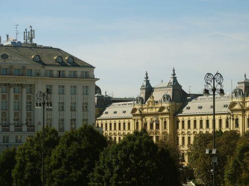 croatia zagreb cityscape