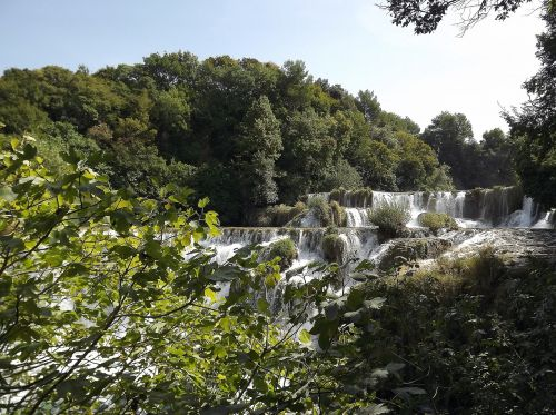 croatia national park croatia dalmatia waterfalls