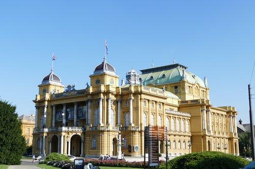 croatian national theatre  theatre  zagreb