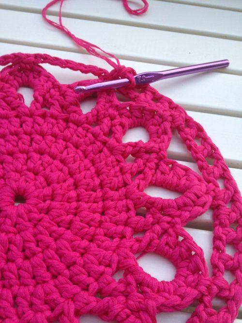 crochet carpet homemade
