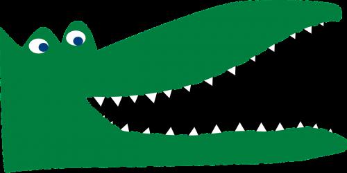 crocodile lizard eyes
