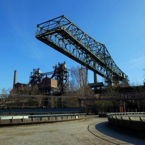 crocodile  north landscape park  industrial plant