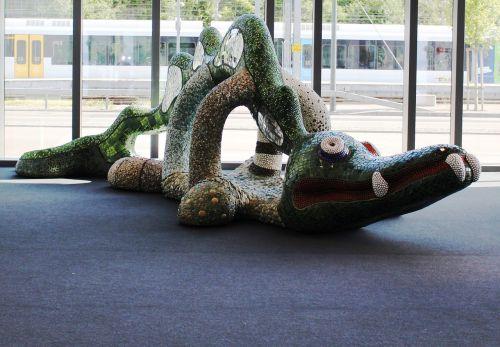 crocodile art niki de saint phall