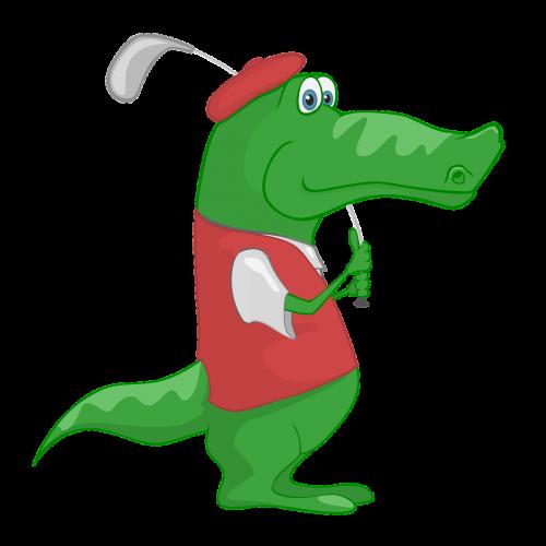 crocodile golf sport