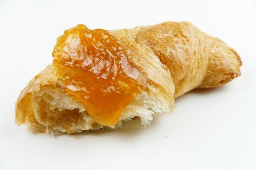 croissant jam sweet