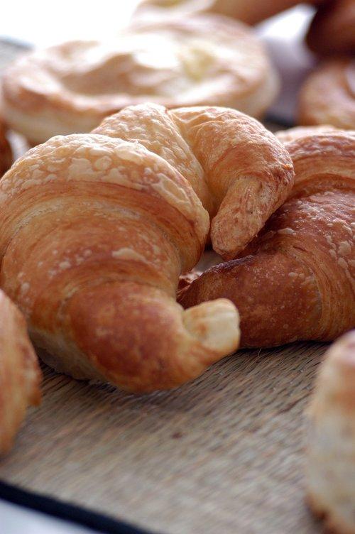 croissant  background  delicious
