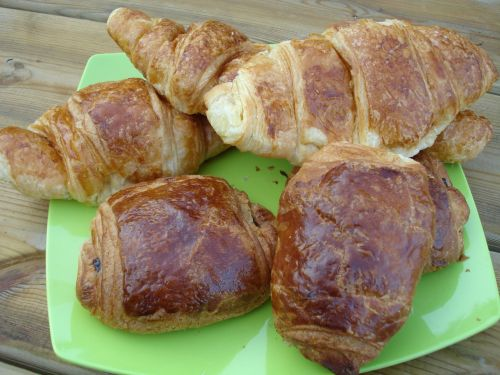 croissant breakfast delicious