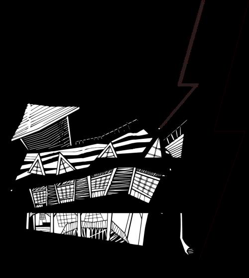 klaidingas namas,namas ant kilimėlių,namas,namai,nuleidžiamas namas,nemokama vektorinė grafika
