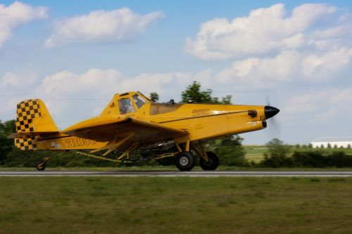 crop duster airplane aircraft