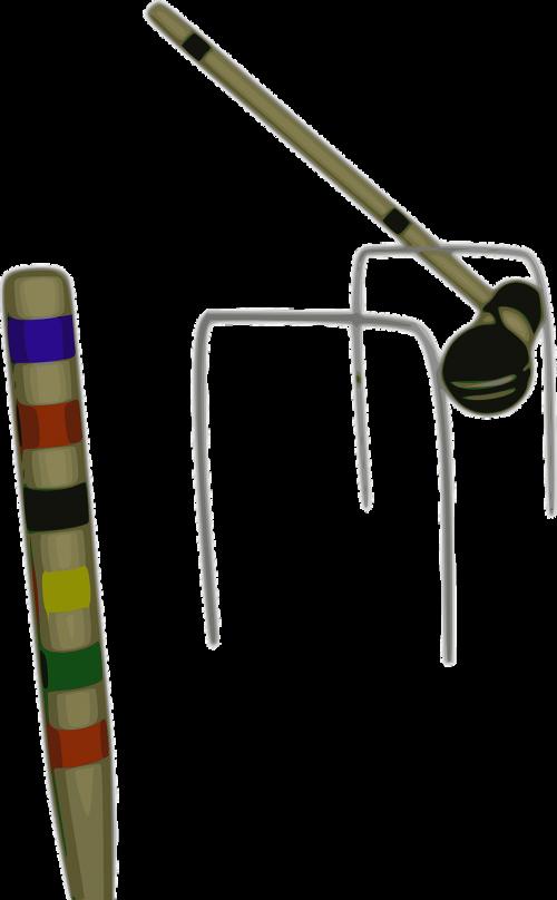 croquet mallet hoop