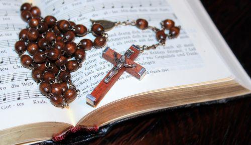 cross rosary prayer book