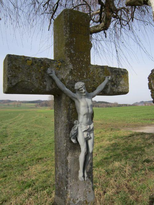 cross wayside cross stone cross
