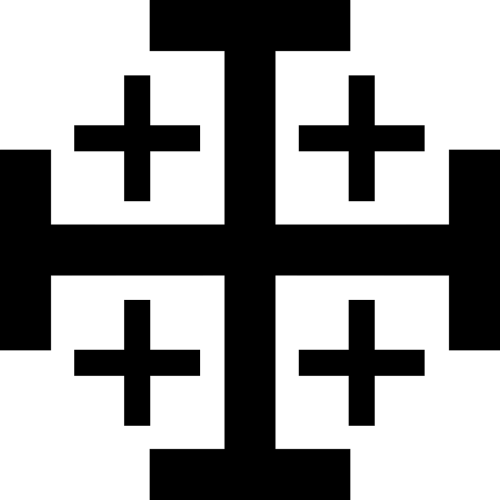 cross jerusalem heraldic