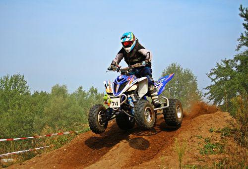 cross motocross quad