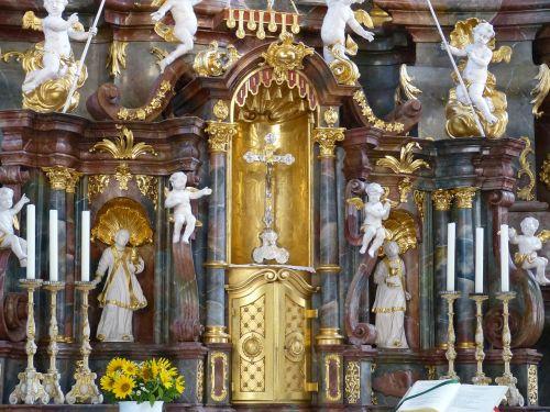 cross angel gilded