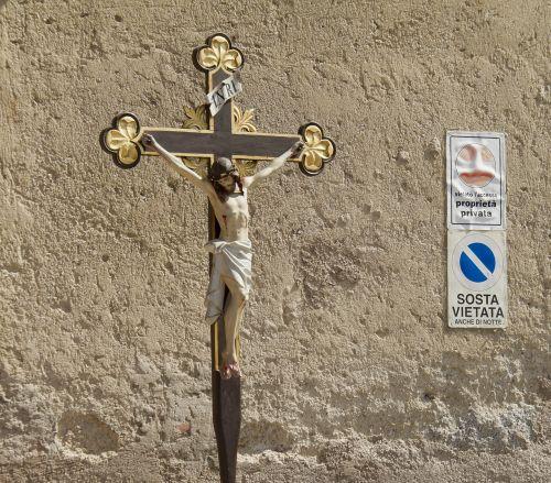 kirsti,Jėzus,Jėzus Kristus,figūra,medinis kryžius,krikščionys,mediena,italy