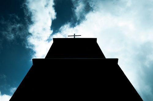 kirsti,dangus,pastatas,architektūra,bažnyčia,šventas,šventas,šešėlis,siluetas,debesys