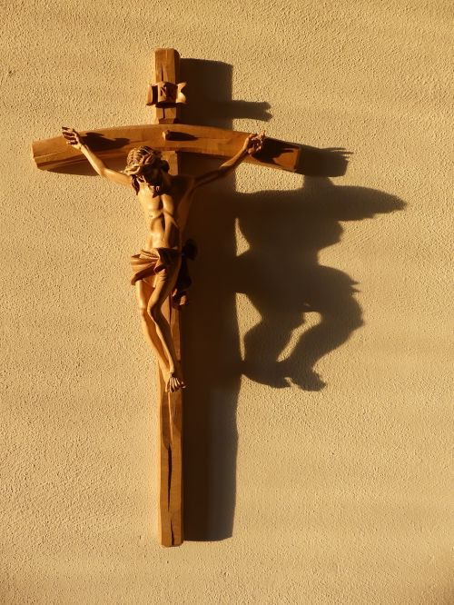 cross jesus christ shadow