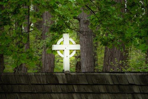 cross  rooftop  church