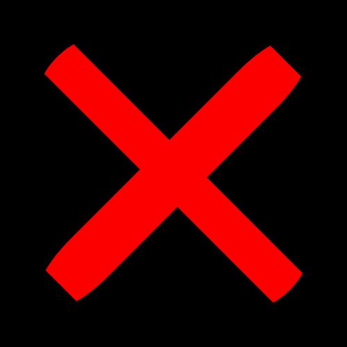 cross error wrong