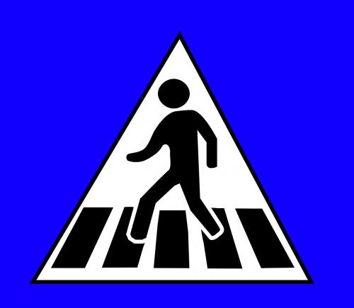 cross crossing crosswalk