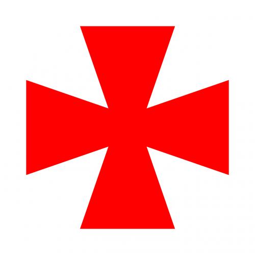 cross crusader medieval