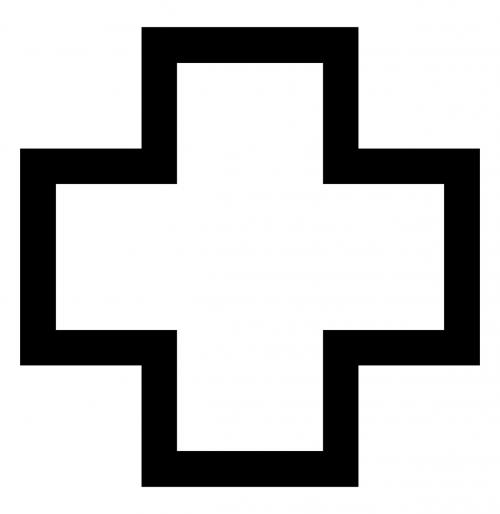 cross plus symbol