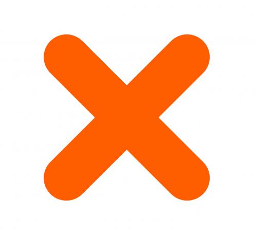 cross no x
