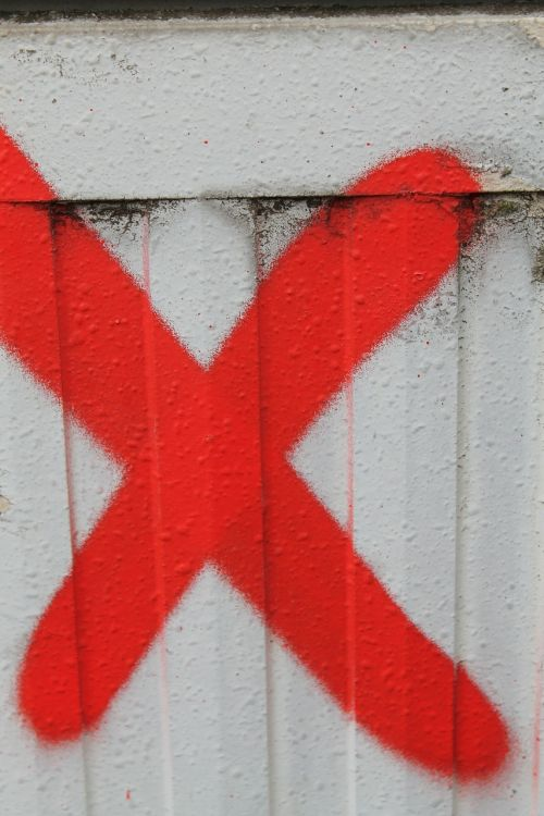 cross x letter