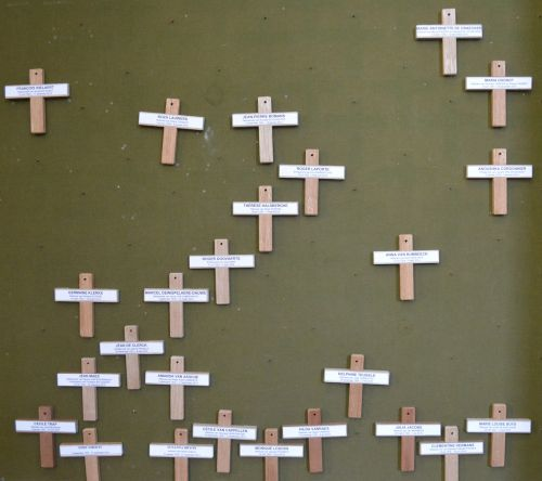 cross deceased persons all souls ' day