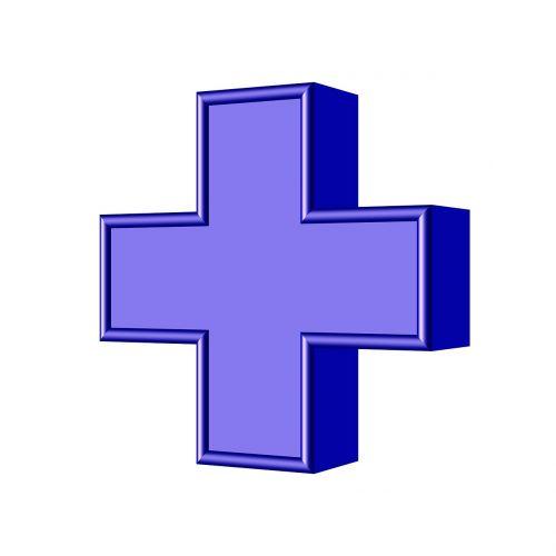 cross add symbol