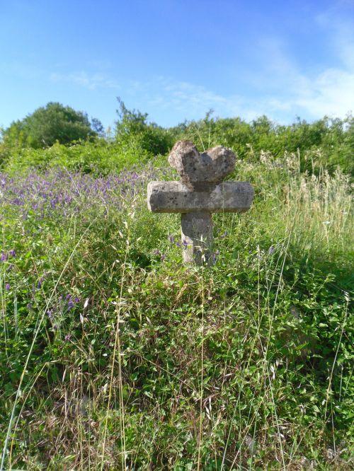 cross pierre heart