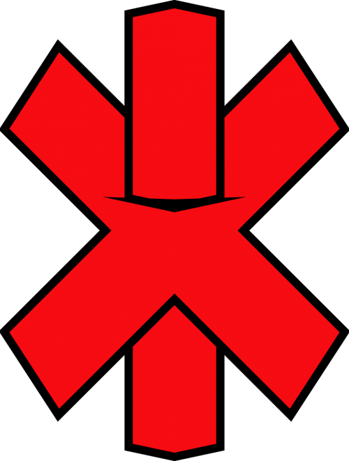 cross red symbol