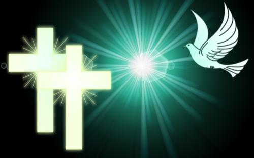 peace dove peace cross