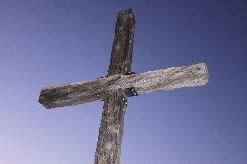 Cross Against A Twilight Sky
